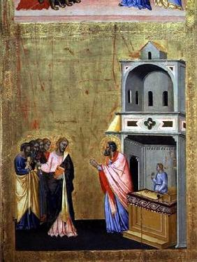 The Calling of St. Matthew, from the Altarpiece of St. Matthew and Scenes from his Life, c.1367-70 (