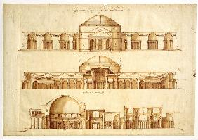 Reconstruction project of the Baths of Agrippa, Rome