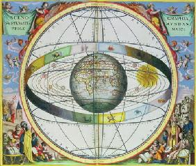 Map of Christian Constellations, from 'The Celestial Atlas, or The Harmony of the Universe' (Atlas c