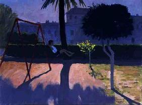 The Swing, Paphos, Cyprus, 1996 (oil on canvas)