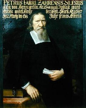 Portrait of Petrus Fabri