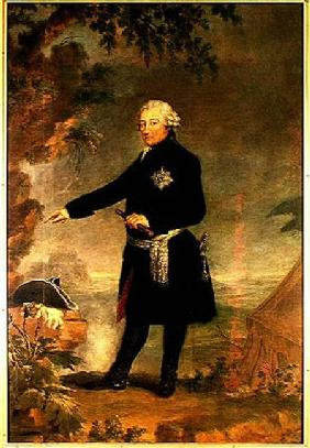 Portrait of Frederick II (1712-86) the Great