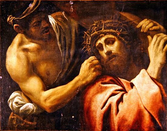 Christ Carrying the Cross - Annibale Carracci as art print ...