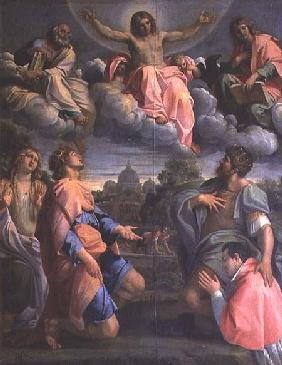Christ in Glory with the Saints