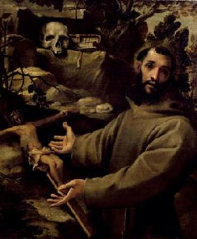 St. Francis, c.1585-86 (oil on canvas)