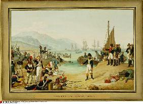 Landing of Napoleon Bonapartes at Antibes