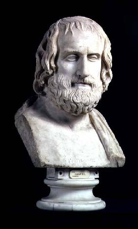Portrait bust of Euripides (c.480-406 BC)