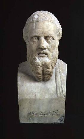 Portrait bust of Herodotus (c.485-425 BC)