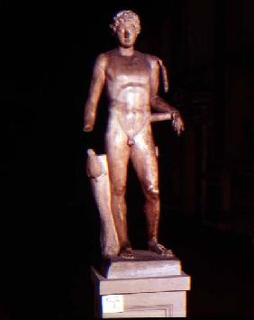 Statue of a youth with the attributes of Mercury Roman