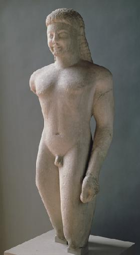 Kouros, Greek, from Paros,near the sanctuary of Asklepios