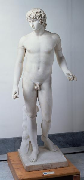 Male nudepossibly Antinous
