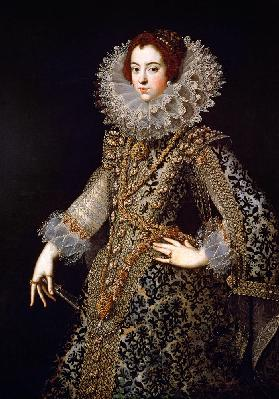 Portrait of Isabel of Bourbon