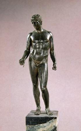Statue of Mercury, adaptation of the Greek Discophoros of Polyclitus,Roman
