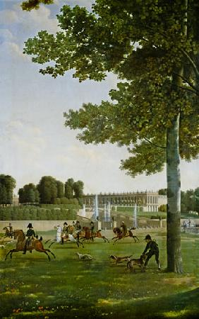 The Open Space in Front of the Grand Trianon