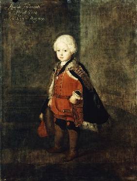 Prince Augustus William aged four