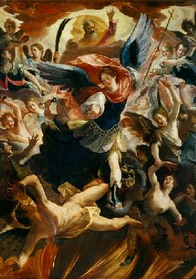 The Archangel Michael Vanquishing the Devil