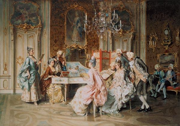 Arturo Ricci Oil Paintings