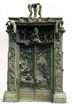 The Gates of Hell, 1880-90 (bronze)