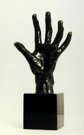 The Hand, cast by Georges Rudier, Paris