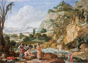 The Finding of the Infant Moses by Pharaoh's Daughter