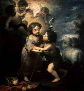 The Infants Christ and John the Baptist