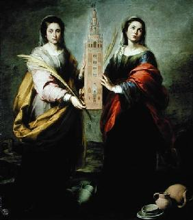 St. Justina and St. Rufina