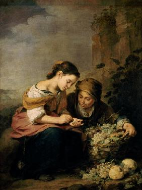 The Little Fruit-Seller