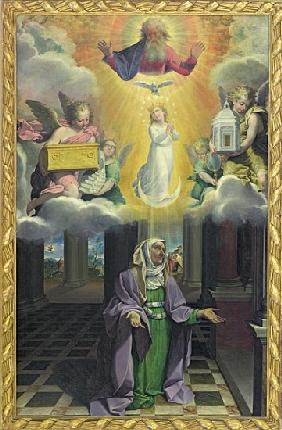 St. Anne and the Immaculate Conception
