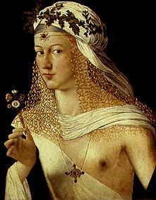 Portrait of a woman (Lucrezia Borgia ?)