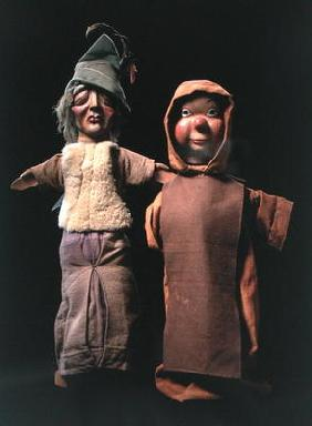 Puppets (wood & textile)