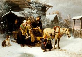 Leaving Home (Dalecarlian Scene)