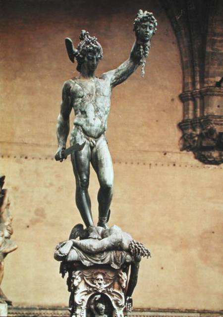 Perseus With The Head Of Medusa Benvenuto Cellini As Art