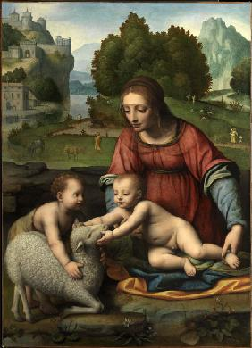 The Virgin and Child with the Infant Saint John