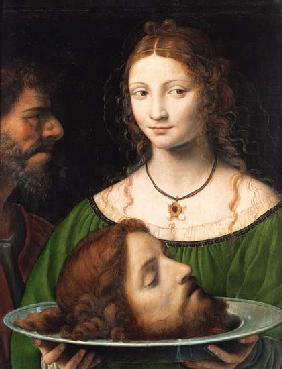 Salome with the head Johannes d.Täufers