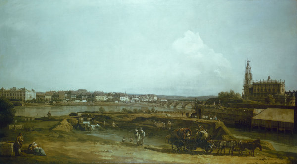 dresden canaletto bernardo bellotto as art print or hand painted oil. Black Bedroom Furniture Sets. Home Design Ideas