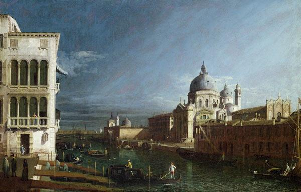 Bellotto, Bernardo : The Molo Looking West with...