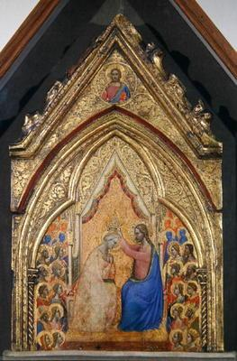 The Coronation of the Virgin (tempera on panel)