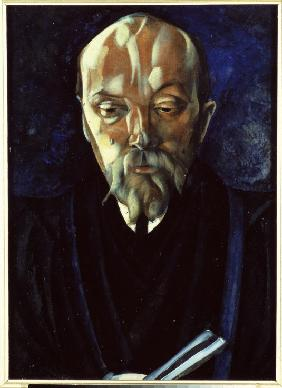 Portrait of the artist Nicholas Roerich (1874-1947)