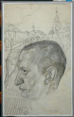 Portrait of Alexander Kerensky (1881-1970)