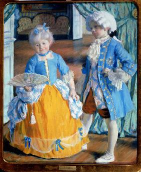 Children in Rococo Dress