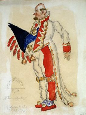 Costume design for the theatre play The flea by E. Zamyatin