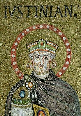 The face of Justinian