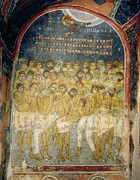 The Forty Martyrs of Sebaste