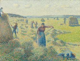 The haymaking, Éragny