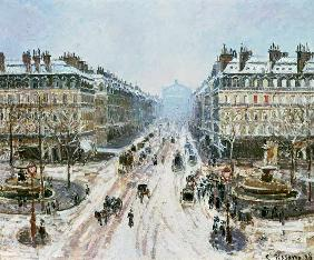 Avenue de l'Opera - Effect of Snow