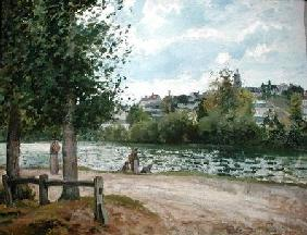 The Banks of the Oise at Pontoise