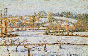 Effect of Snow at Eragny, c.1886