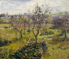 Landscape with kitchen garden at Eragny.