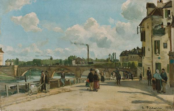 (view of Pontoise Quai you Pothuis)