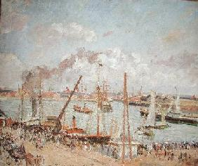 The Port of Le Havre, Afternoon, Sun